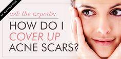 Go to: http://www.makeup.com/how-do-i-cover-up-acne-scars/
