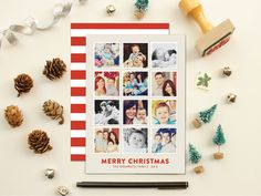 Instagram Christmas cards digital file you print by polkaprints ...