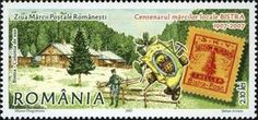Stamp: Centenary of the Bistra Local Postage Stamps (Romania) (Stamp Day) Mi:RO Postage Stamps, Romania, Day, Seals, World, Stamps