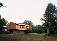 Contemporary Exterior and Marcel Breuer in Millbrook, New York