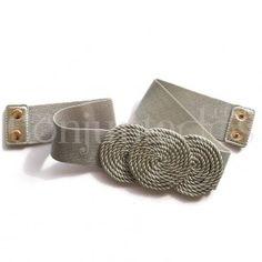 Cinturón-fajín Sirkel en plateado