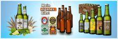 Selbstgestaltetes Bier als Geschenk Bottle, Home Decor, Beer Labels, Decoration Home, Room Decor, Flask, Home Interior Design, Jars, Home Decoration