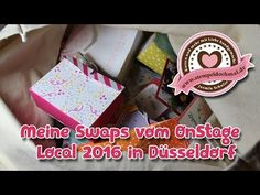 Stampin' Up! OnStage April 2016 ~ Meine SWAPs aus Düsseldorf - YouTube