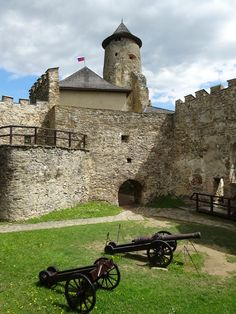castle, slovakia, ľubovňa Castle Ruins, Fortification, Abandoned Places, Cat Art, Cannon, Romania, Cathedral, Places To Go, Art Deco