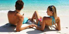 Photo about Couple on a tropical beach. Image of people, outdoors, beach - 12600623 Health Guru, Health Class, Health Trends, Couple Picture Poses, Couple Pictures, Womens Health Magazine, Mini Vacation, Tan Woman, Videos
