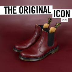 The Original Icon: the 2976 Chelsea boot. First produced by Dr. Martens in the early 1970s, this style has its origins as far back as 1851 when it was patented by Queen Victoria's shoemaker J. Sparkes Hall. This classic style is as durable as it is timeless.