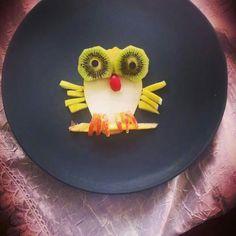 #owl #pears #kiwi