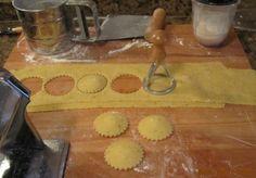 Bloc de recetas: Ravioli de gorgonzola y nueces (paso a paso)