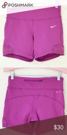 • NWOT • NIKE Dri-Fit Purple Side Mesh Shorts ❤️ BUNDLES ❤️ Discounts on Bundles ❌ NO TRADES ❌ NO Low Balling!!   • NWOT •  - Condition: New without tags - Size: Small - Back Zipper Nike Shorts