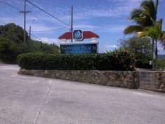 Sapphire Beach Resort & Marina Entrance