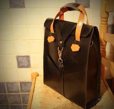 Leather bag men- Desing Ludena. Leather handbag and shoulder bag for men…