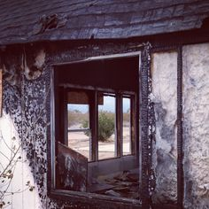 Abandoned after fire
