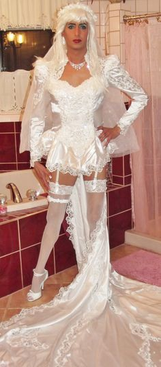 Nice CD  I'm dress in white and I just look so good wearing my sissy wedding dress for my sissy wedding. My boy sissy girl will carry me to the altar at home so we can do more cross dressing for ever after. WHITE HOT BOILING CREAMY CUM ALL OVER US OF ALL OUR DREAMS> ANDY F**KIN HAPPY NOW!!!