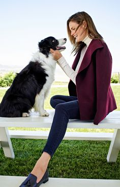 Browse our modern classic selection of women's clothing, jewelry, accessories and shoes. Talbots offers apparel in misses, petite, plus size and plus size petite. Fall Winter Outfits, Winter Style, Modern Classic, Talbots, New Look, Plus Size, Clothes For Women, My Style, Celebrities