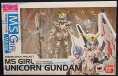 バンダイ アーマーガールズプロジェクト(AGP)/機動戦士ガンダムUC MS少女 ユニコーンガンダム/MS GIRL UNICORN GUNDAM