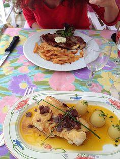 """Merlu au piment d'#Espelette, #restaurant """"Au Fin Gourmet"""" à #Dax #Landes #Gascogne #foodporn"""