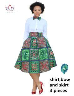 2017คริสต์มาสชุดขนาดบวก2ชิ้นแอฟริกันพิมพ์Dashikiชุดเสื้อกระโปรงBazin Rche F Emmeแอฟริกาเสื้อผ้า5xlธรรมชาติWY773