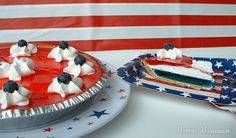 Easy Patriotic Pie for the Olympics #TeamUSA