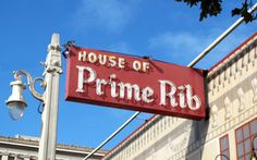 House of Prime Rib, San Francisco   T&L Best Steakhouses in U.S. May 2017