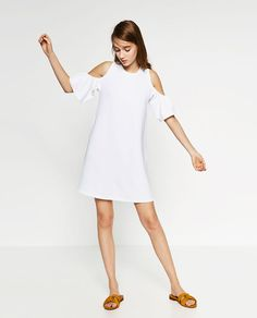 ZARA - WOMAN - DRESS WITH FRILLS
