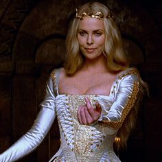 Charlize Theron as Ravenna in Snow White & the Huntsman | Salacious with Style