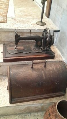 Eski dikiş makinesi