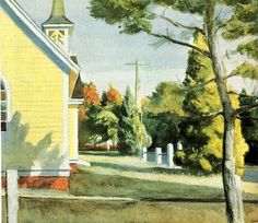 Church in Eastham - Edward Hopper