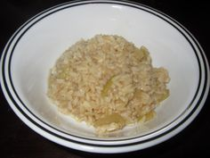 Yeast Free Brown Rice Pilaf Ingredients 1 tablespoon olive oil 1 small yellow onion chopped 1 stalk celery finely chopped 3 garlic cloves minced 1 cup brown rice 3 cups yeast free vegetable or chicken broth ¼ teaspoon salt ⅛ teaspoon ground black pepper