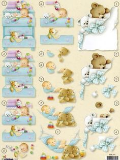 BEBE 3d Cards, Cool Cards, New Born Baby Card, Baby Shower Clipart, Image 3d, Baby Clip Art, Step Cards, Stamp Printing, Baby Images