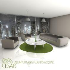 Andrea Scorrano, Alfredo Mantini — César > Zanotta & Cristalplant Design Contest