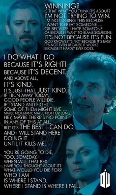 Il mio personale saluto a Twelve, al termine della sua avventura in Doctor Who.