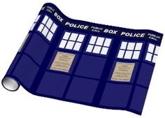 Doctor Who Tardis Wrapping Paper!!