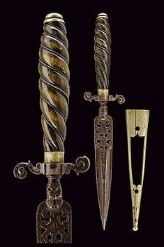 Buy online, view images and see past prices for A rare and fine dagger. Swords And Daggers, Knives And Swords, Italian Police, Sword Belt, Foam Armor, March 6, Dragon Head, Fantasy Weapons, Ocean City