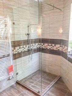 Walk-in - fürdő / WC ötlet, minimál stílusban
