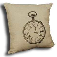 Fob watch taupe cushion.