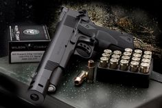 Wilson Combat 460 Rowland Hunter. The most powerful 1911 on earth.