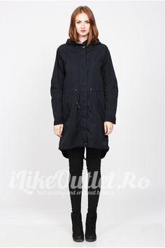 Winter jacket dark navy - ONLY