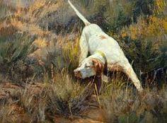 Pointer Dog Quail Hunting, Pointer Dog, Wildlife Art, Giraffe, Westerns, Murals, Dogs, Nature, Artwork