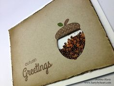 Shaker card tutorial with CAS-ual Fridays Stamps