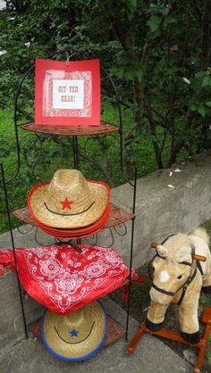 cute idea for a cowboy party #tlsffavthings #pinningparty