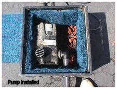 Water pump DIY filter