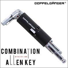 DOPPELGANGER(R) コンビネーションアーレンキー 自転車用ツール メンテナンス 工具 六角レンチポイント