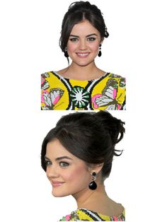 Tips to Getting Lucy Hale's Messy Bun  http://www.seventeen.com/beauty/hair-ideas/lucy-hale-messy-bun