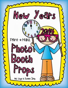 FREE Photo Booth Props for New Years