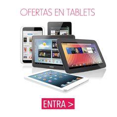 ¿Buscando un #tablet? A ver qué te parecen estos
