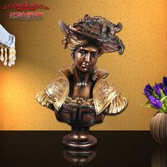 Find More Figurines & Miniatures Information about 2016 Promotion European Home Furnishing Celebrity Sculpture Beauty Head Ornaments Resin Crafts Wedding Room Entrance Decoration ,High Quality decorative decorative,China decorative home decor Suppliers, Cheap decoration 2016 from Commodity wholesale 2 on Aliexpress.com