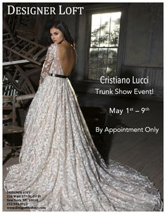 New York brides don't miss this trunk show!