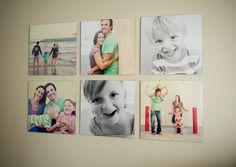 Love this 20 x 20 wall display by Tara Whitney