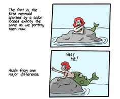 The Real Origin of Mermaids