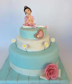 Love ballet - Cake by barbara lauricella